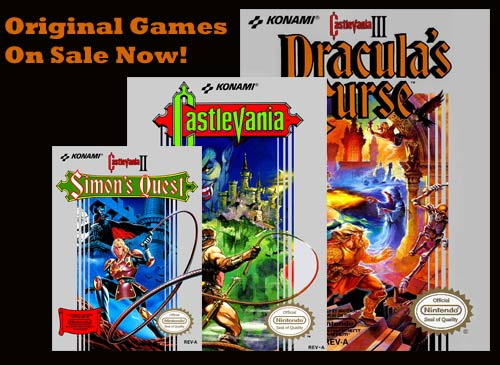 Buy Castlevania NES Games