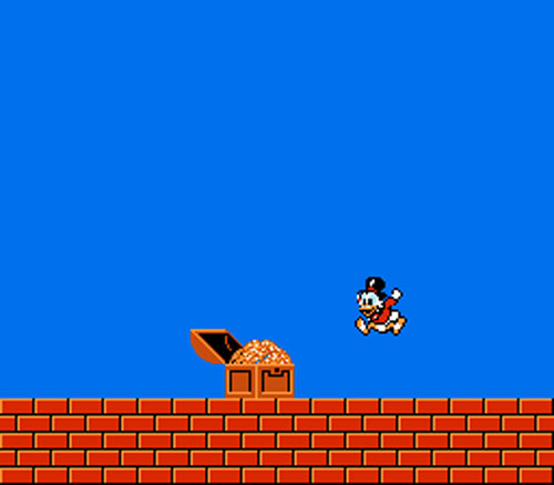 did you know nes duck tales had 3 endings dkoldies retro game store