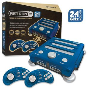 Retron 3 System in Blue